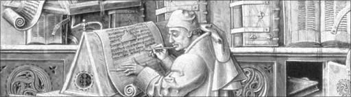 scriptor, copierend